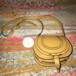 Small Chloe Marcie Leather Crossbody Bag